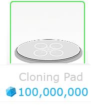 Cloning pad