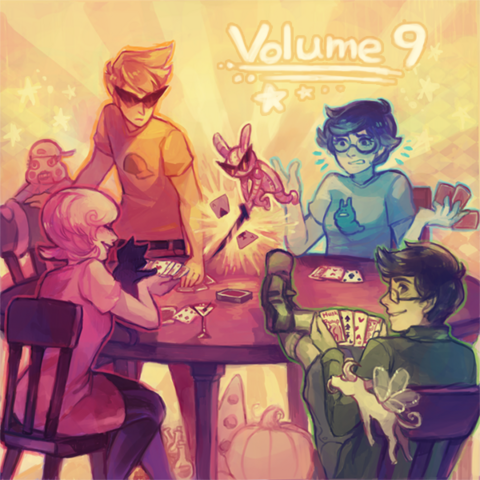 File:Homestuck Vol. 9 Album cover.png