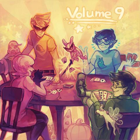 File:Homestuck Vol. 9 Album cover.png