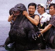 Kenpachiro Satsuma entering Godzilla