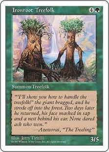 Ironroot Treefolk 5E