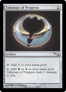 Talisman of Progress MRD