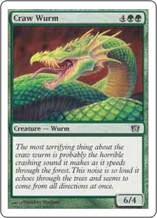 Craw Wurm 8ED