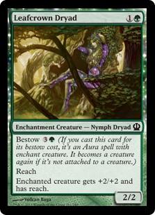 Leafcrown Dryad THS