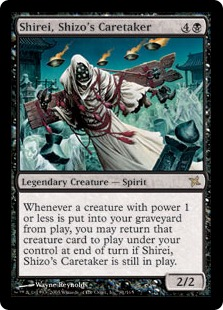 Shirei, Shizo's Caretaker BOK