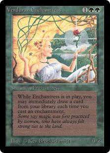 Verduran Enchantress 2E
