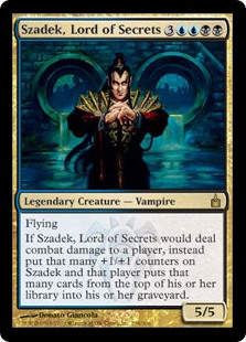 Szadek, Lord of Secrets RAV