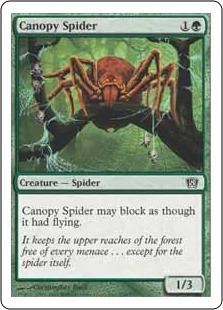 Canopy spider 8ED