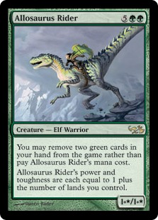 Allosaurus Rider EVG