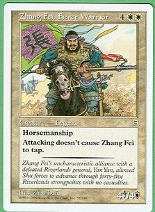 Zhang Fei, Fierce Warrior PTK