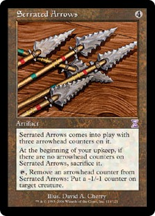 Serrated Arrows TSB