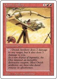 Orcish Artillery 3E