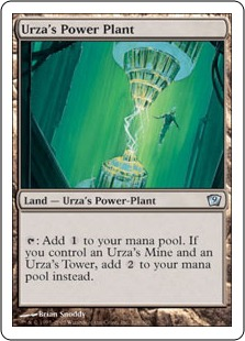 Urza's Power Plant 9ED