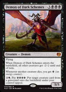 Demon of Dark Schemes KLD