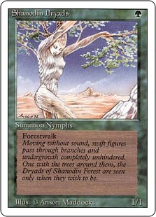 Shanodin Dryads 3E