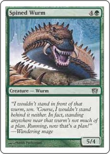 Spined wurm 8ED