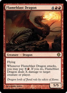 Flameblast Dragon ALA