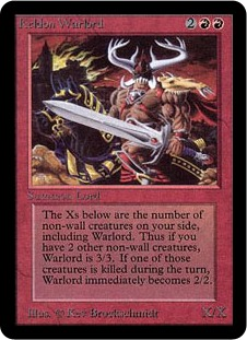 Keldon Warlord 1E
