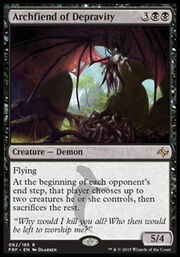 Archfiend of Depravity FRF