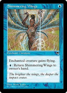 Shimmering Wings TE