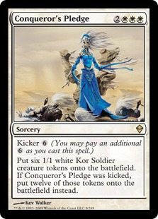 Conqueror's Pledge ZEN