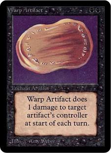 Warp Artifact 1E