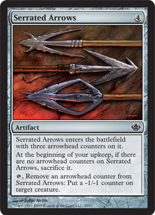 Serrated Arrows DDD