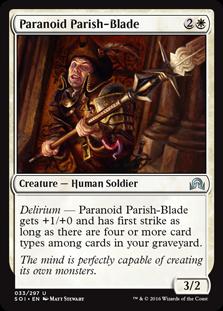 Paranoid Parish-Blade SOI