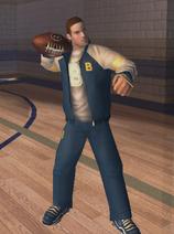 Juri with ball