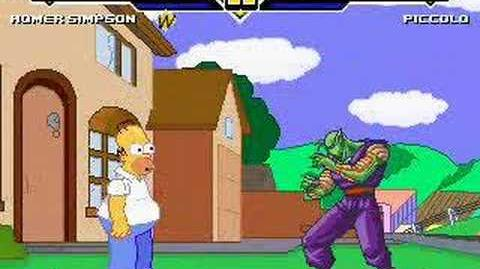 Mustkillroy MUGEN-Mania 16 Homer Simpson vs Piccolo