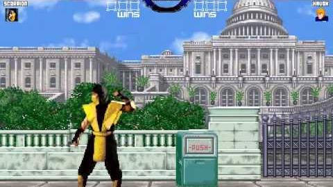 Brawl Mugen Arcade Runs Scorpion-0