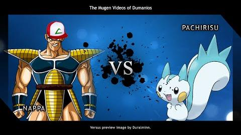 MUGEN Vegeta, look! It's a pokemon!
