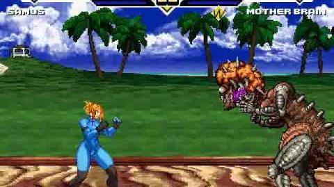 TK's Random Mugen Battle 853 - Zero Suit Samus VS Mother Brain