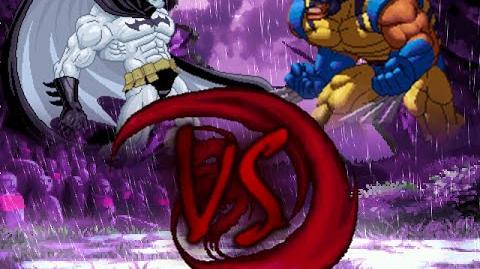 MUGEN Match 40 - Batzarro VS Wolverine