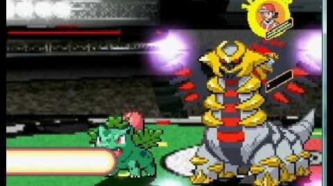 Mugen pokemon trainer vs rare legendary