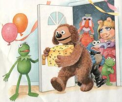 Kermit's Surprise Party