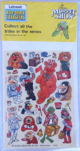 Letraset muppet 9