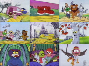 Muppet Babies Wizard of Oz