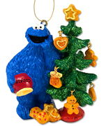 Cookie holiday tree