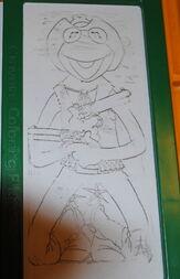 Crayola 1982 coloring plates 5
