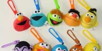 Sesame Street Happy Meal clip-ons