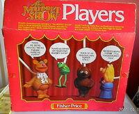 Stick puppets back