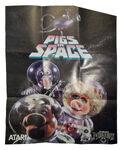 Pigs in space atari poster2