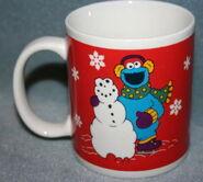 Sesame street general store mug xmas b