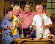 Gonzo, Kenny Baker, Dizzy Gillespie, Tommy McQuater