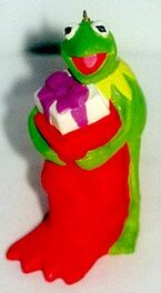 Kermit stocking sigma ornament