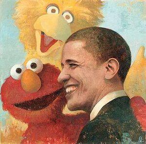 Obama - Sesame