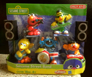 Playskool hasbro sesame street band figures target exclusive 2011