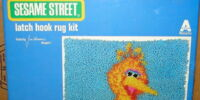 Sesame Street latch hook kits (Vogart)