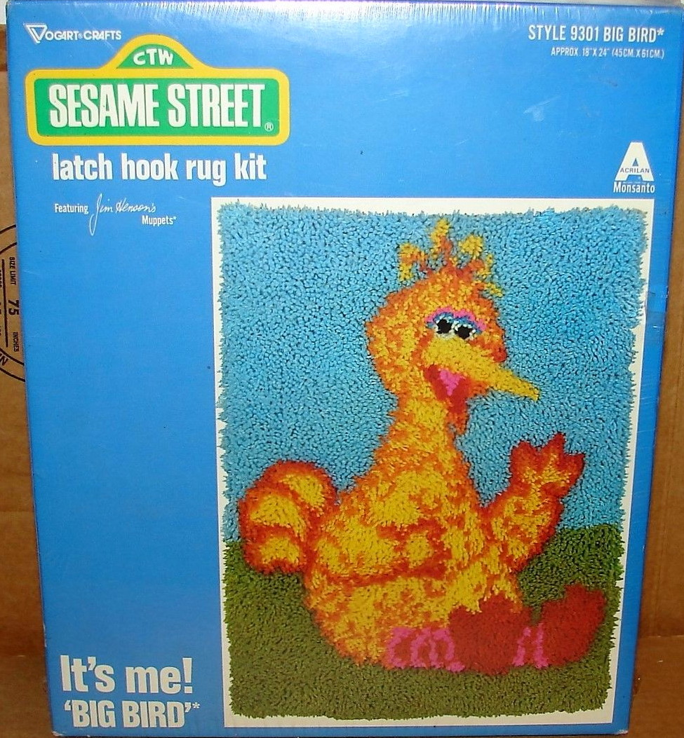 Sesame Street Latch Hook Kits (Vogart) | Muppet Wiki | FANDOM Powered By  Wikia